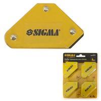 Набор держателей магнитных мини 4кг 52х20х40х16х38мм (45,90,135°) 4шт SIGMA (4270251)