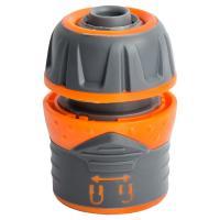 """Коннектор ½"""" быстросъёмный для шланга ½"""" с замком FLORA (5015464)"""