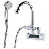 Кран-водонагреватель проточный JZ 3.0кВт 0,4-5бар для ванны гусак ухо настенный AQUATICA (JZ-7C141W)