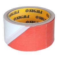 Лента сигнальная 72мм×200м SIGMA (8423611)